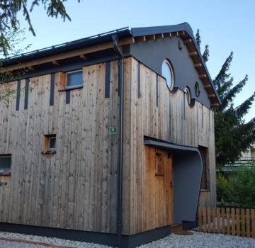Prefalz, antracit, Ljubljana